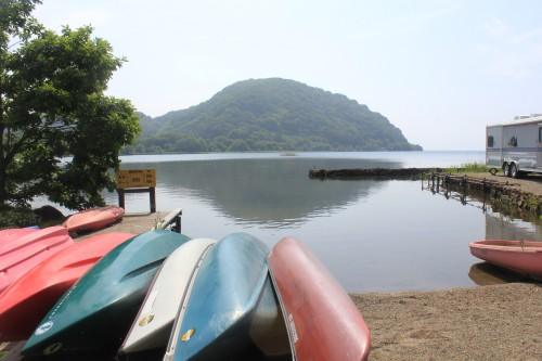 You can also canoe and rowing boat rental.