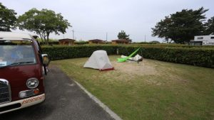 [Shiga]Miami-hama[マイアミ浜]Auto camp ground.